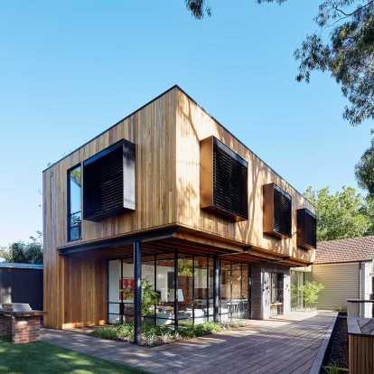 Intip Inspirasi Desain Rumah Kayu Sederhana Cantik Gotomalls