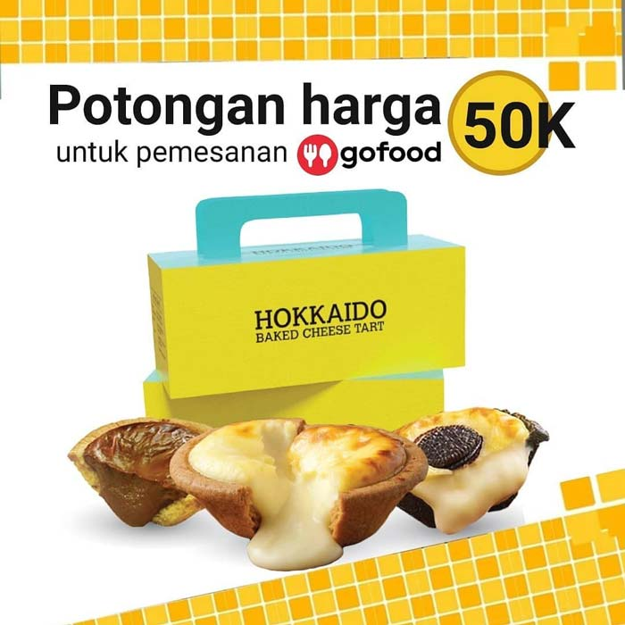 Diskon Rp 50 000 From Hokkaido Baked Cheese Tart October 2020 Pondok Indah Mall